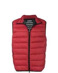 rote gesteppte ärmellose Jacke von ECOALF