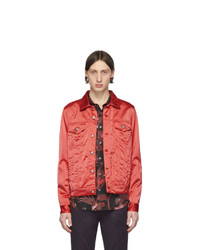 rote Harrington-Jacke von Paul Smith