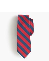 rote horizontal gestreifte Krawatte