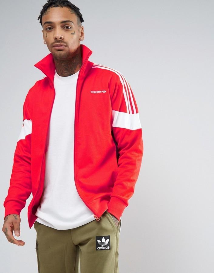 Von Von Jacke Rote Jacke Rote Adidas Jacke Rote Adidas shQtrdBCx