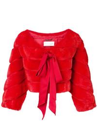 rote Jacke von Alberta Ferretti