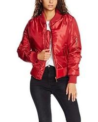rote Jacke von Boohoo
