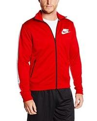 rote Jacke von Nike