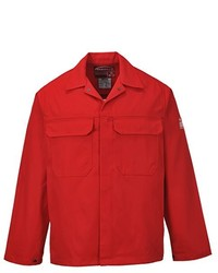 rote Jacke von Portwest