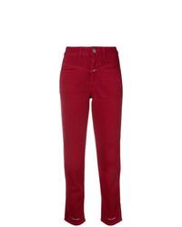 Modische rote Jeans für Damen für Winter 2019 kaufen   Damenmode 156085bb06