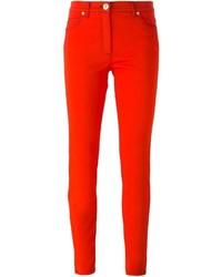rote Jeans von Versace