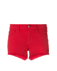 rote Jeansshorts von Frame Denim
