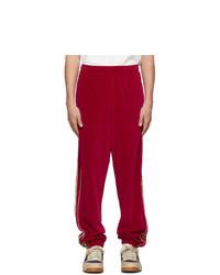 rote Jogginghose von Gucci