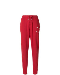 rote Jogginghose von Zoe Karssen