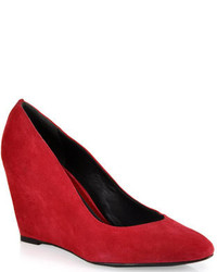 Rote keilpumps original 9367787