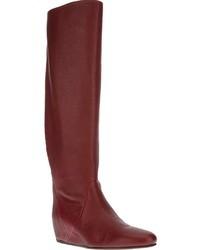 Rote kniehohe stiefel original 1549311