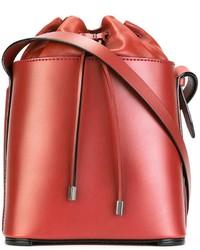 rote Leder Beuteltasche von 3.1 Phillip Lim