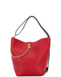 rote Leder Beuteltasche von Givenchy