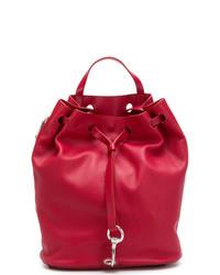 rote Leder Beuteltasche von Rebecca Minkoff