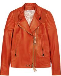Modische rote Lederjacke für Damen von Givenchy für Winter