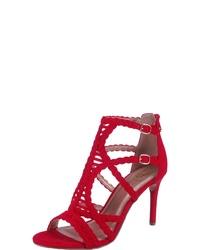 rote Leder Sandaletten von Bullboxer