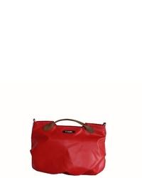 rote Leder Umhängetasche von 7clouds