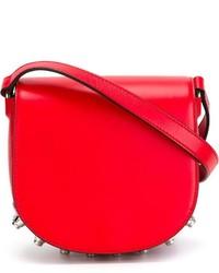 rote Leder Umhängetasche von Alexander Wang