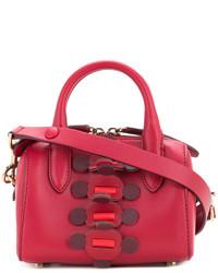rote Leder Umhängetasche von Anya Hindmarch