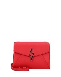 rote Leder Umhängetasche von Paul's Boutique