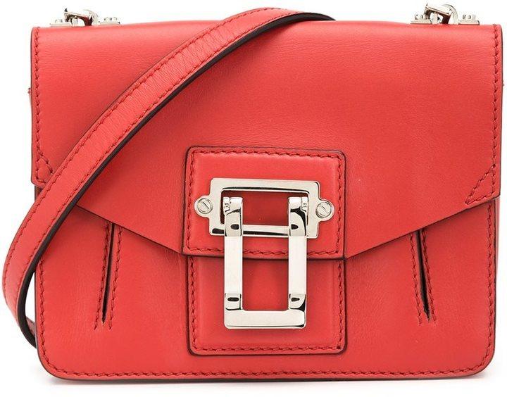 rote Leder Umhängetasche von Proenza Schouler