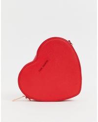 rote Leder Umhängetasche von Ted Baker