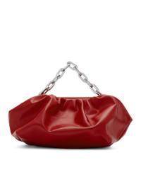 rote Lederhandtasche von MARQUES ALMEIDA