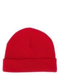 rote Mütze von AMI Alexandre Mattiussi