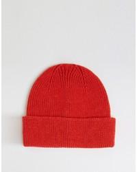 rote Mütze von Asos