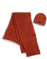 Rote Mütze von Belstaff
