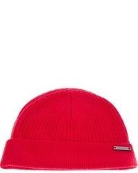 rote Mütze von Burberry