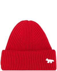 rote Mütze von MAISON KITSUNÉ