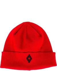 rote Mütze von Marcelo Burlon County of Milan