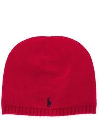 rote Mütze von Ralph Lauren
