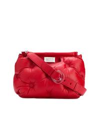 rote Nylon Umhängetasche von Maison Margiela