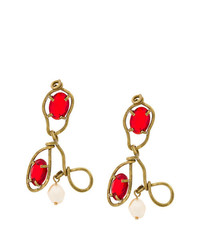 rote Ohrringe von Marni