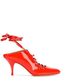 rote Pantoletten von Givenchy