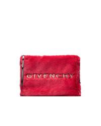rote Pelz Clutch von Givenchy