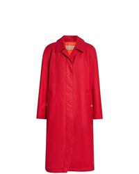 rote Regenjacke von Burberry