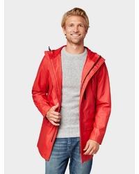 rote Regenjacke von Tom Tailor