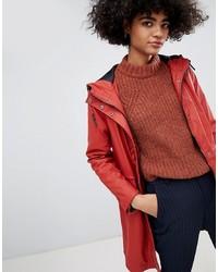rote Regenjacke von Vero Moda
