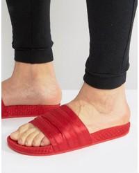 rote Sandalen von adidas