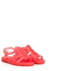 rote Sandalen von Mini Melissa