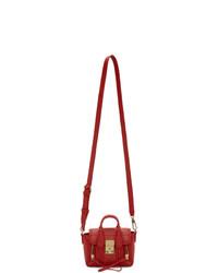 rote Satchel-Tasche aus Leder von 3.1 Phillip Lim