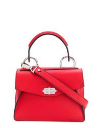 rote Satchel-Tasche aus Leder von Proenza Schouler