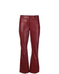 Modische rote Lederhose für Damen für Winter 2019 kaufen   Damenmode 0a045e2c90