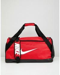 rote Segeltuch Reisetasche von Nike