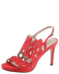 rote Segeltuch Sandaletten von Bruno Banani