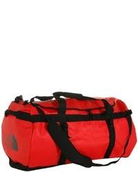 rote Segeltuch Sporttasche