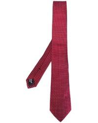 rote Seidekrawatte von Armani Collezioni